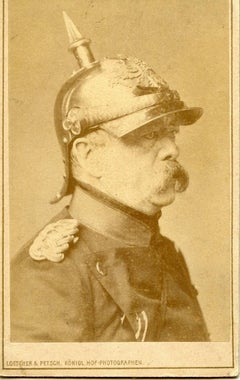 Portrait of Otto von Bismarck - Ancient Photograph - 1876