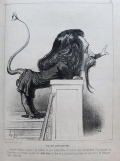 Scènes Parlementaires - Rare Book Illustrated by Honoré Daumier - 1850