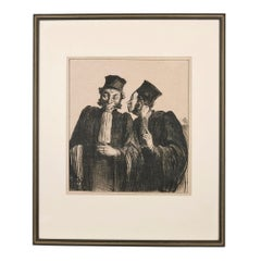 Two lawyers from 'Croquis Parisiens'