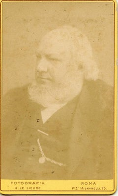 Unpublished Portrait - Vintage Photo - 1870s