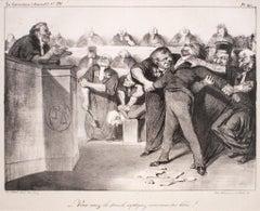 Vous avez la parole, expliquez-vous, vous etes libre - 1830s - Honoré Daumier