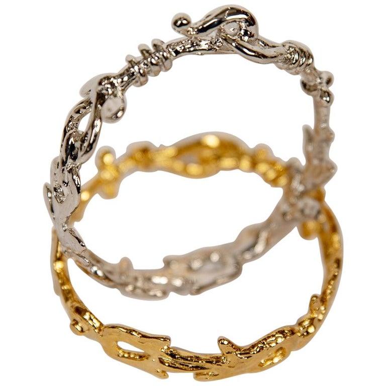 Hook Bracelets by Franck Evennou, France, 2018 For Sale