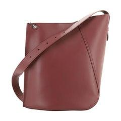 Hook Shoulder Bag Leather Medium