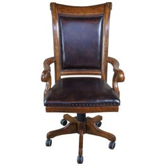 Hooker Tynecastle Leather Tilt Swivel Desk Office Chair 5323-30220