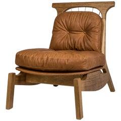 Hoop Armchair, Brazilian Wood