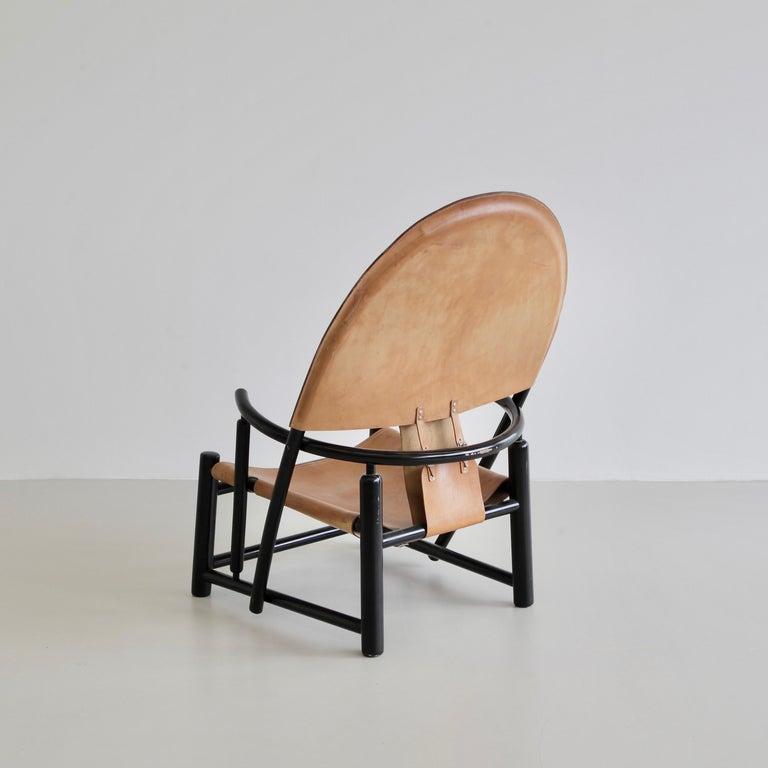 Italian Hoop Armchair by Palange & Toffoloni For Sale