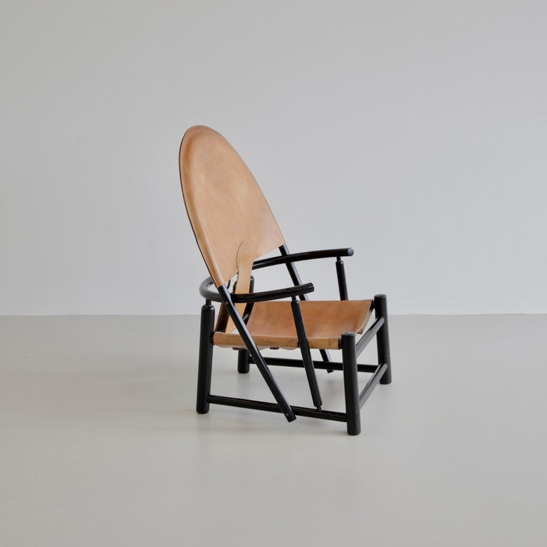 Hoop Armchair by Palange & Toffoloni In Good Condition For Sale In Berlin, Berlin