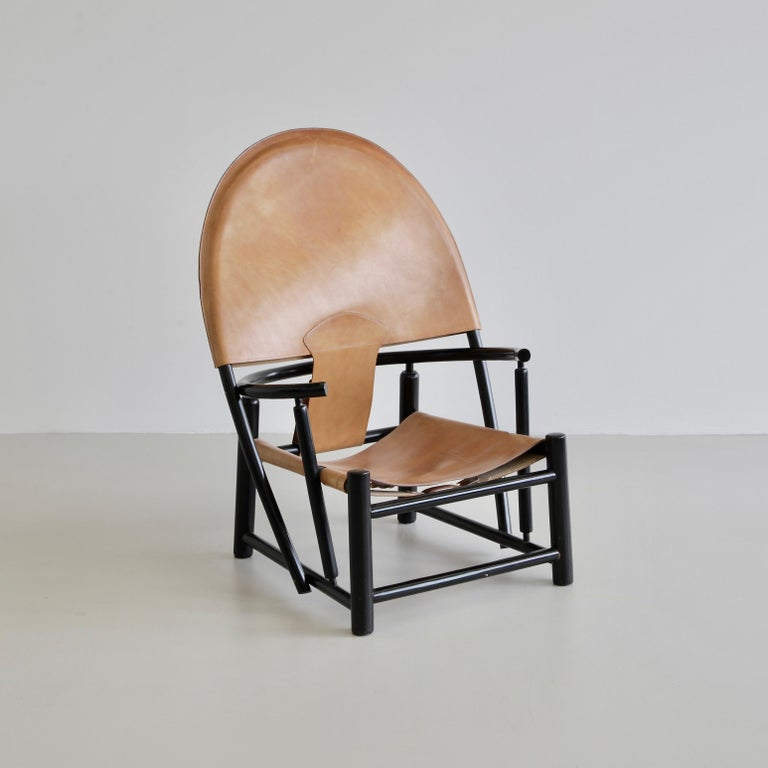 Late 20th Century Hoop Armchair by Palange & Toffoloni For Sale