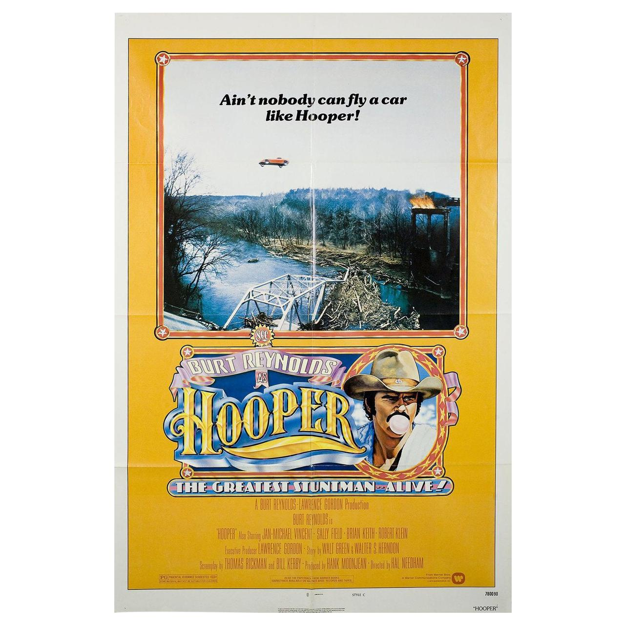 """Hooper"" 1978 U.S. One Sheet Film Poster"
