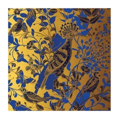Hoopoe Birds Gold Panel #1