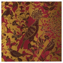 Hoopoe Birds Gold Panel #2