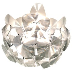 Hope Modernist Ceiling Light with Reflective Prisms by Luceplan, Italy 2018