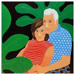 'Hopelessly Devoted' Portrait Painting by Alan Fears Pop Art