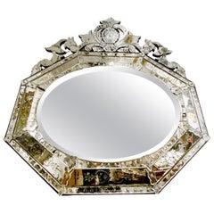 Horizontal Venetian Mirror