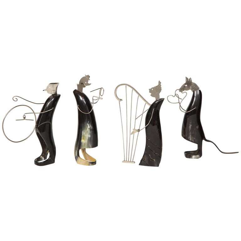 Horn and Metal Musical Ensemble For Sale