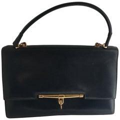 Horn Bag Hermes Navy Bleu
