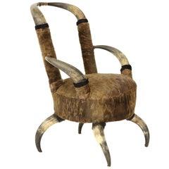Vintage Horn Chair