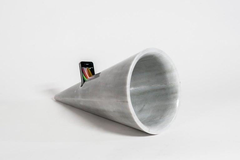 Other Horn / Marble / Art / Sculpture / Silvino Lopeztovar For Sale