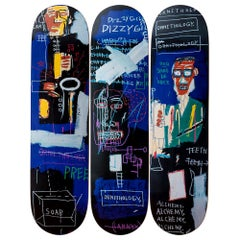 Horn Players Skateboard Decks after Jean-Michel Basquiat