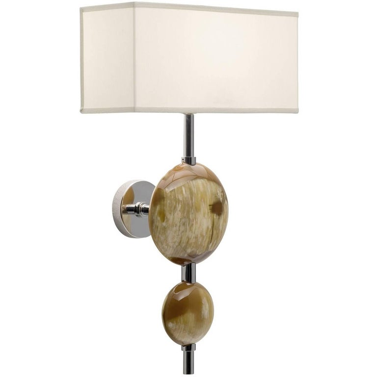 Horn Sconce For Sale