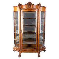 Horner Tiger Maple Cabinet