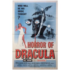 """Horror Of Dracula"" '1958' Poster"