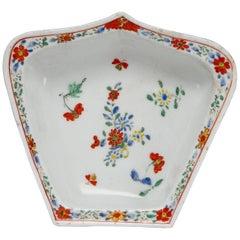 Hors D'Oeuvre Dish, Kakiemon Decoration. Bow Porcelain Factory, circa 1750