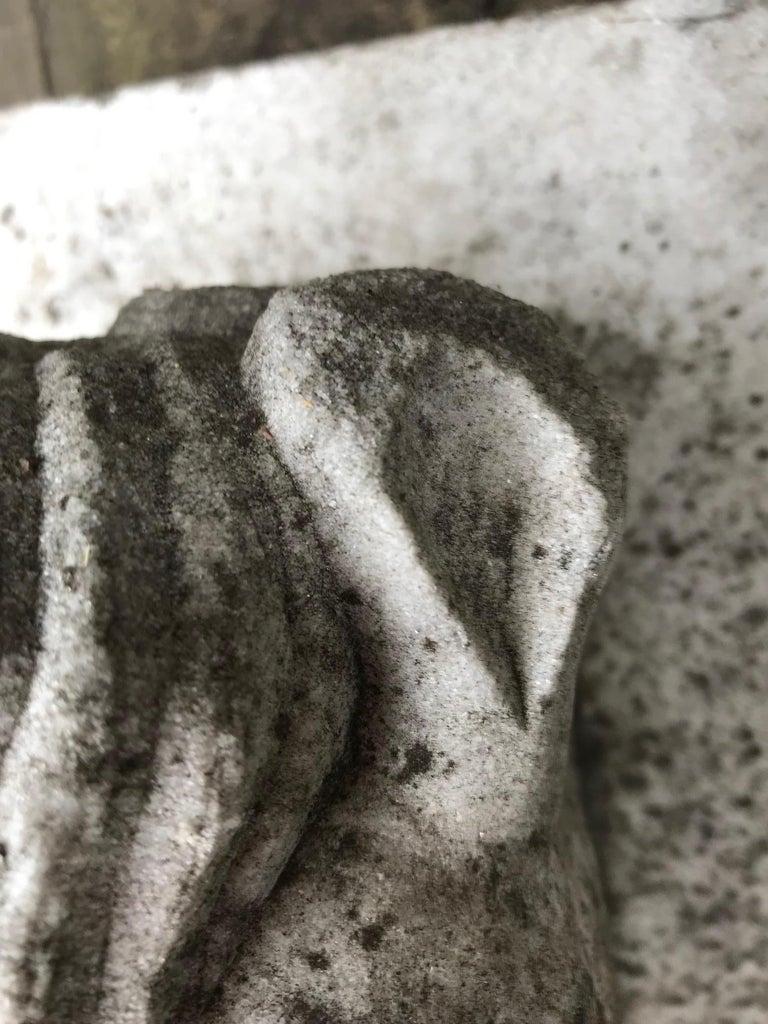 20th Century Horse Head Marble Keystone For Sale