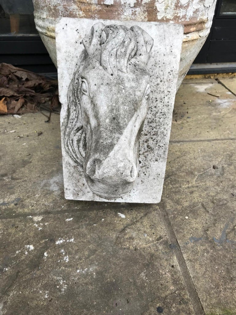 Horse Head Marble Keystone For Sale 1
