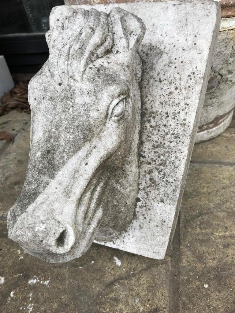 Horse Head Marble Keystone For Sale 2
