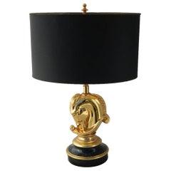 Horse Head Table Lamp by Maison Jansen Mid-Century, c1970