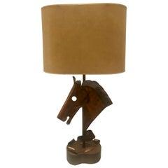 Horse Head Table Lamp, Yasha Heifetz