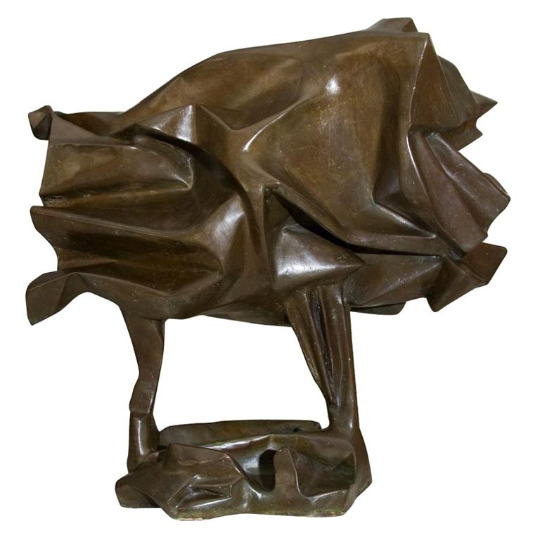 """""""Horse"""" Large Abstract Bronze by Abbott Pattison"""