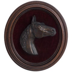 Horse Relief in Wooden Frame, 1864