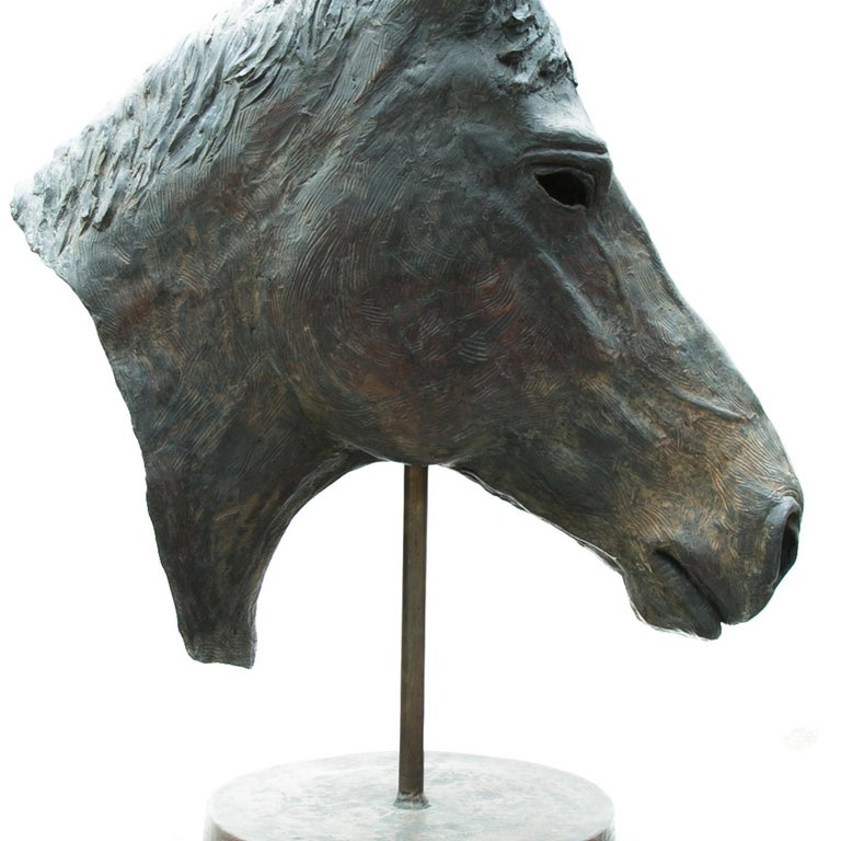 Italian Horse Sculpture For Sale