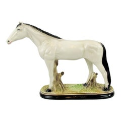 Horse Sculpture, Plaster, Early 20th Century