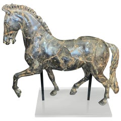 Horse Statue, Classic Greek Style, Thailand, Contemporary