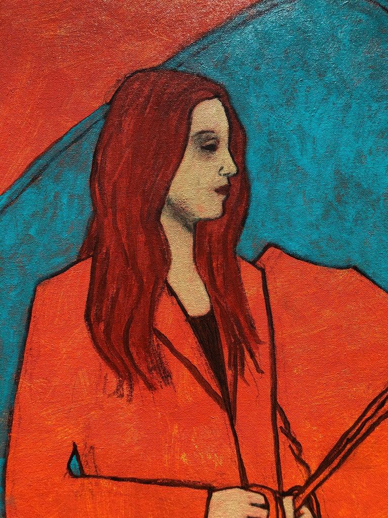 American James Strombotne, painting