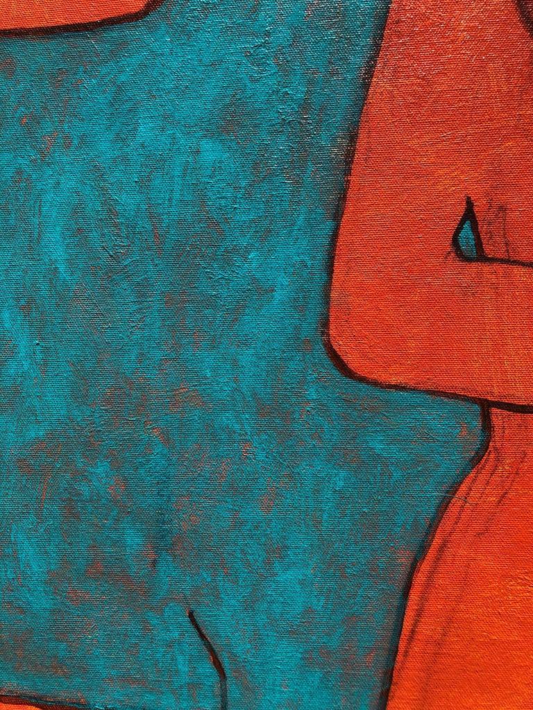 Brushed James Strombotne, painting