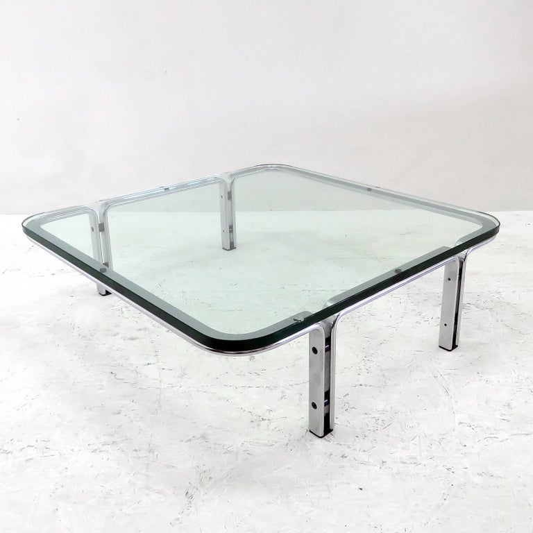 Horst Brüning Coffee Table for Kill International, 1960s In Good Condition For Sale In Los Angeles, CA