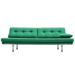 Horst Brüning Daybed with Green Upholstery