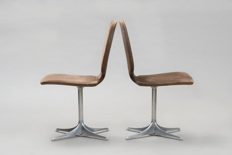 Mid-Century Modern Horst Brüning 'Sedia' Model Dining Chairs for COR For Sale