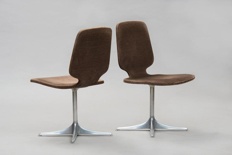 German Horst Brüning 'Sedia' Model Dining Chairs for COR For Sale
