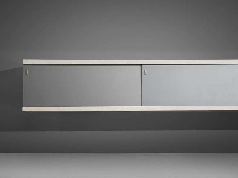Horst Brüning Wall-Mounted Credenza In Good Condition For Sale In Waalwijk, NL