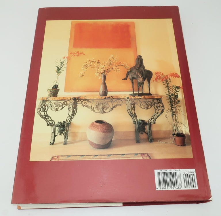 Beige Horst Interiors Coffee Table Book, 1993 For Sale