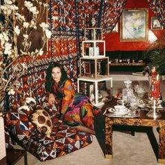 Around That Time - Diane Von Fürstenberg, 1972, Extra Large Archival Print