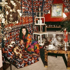 Around That Time - Diane Von Fürstenberg, 1972, Large Archival Pigment Print