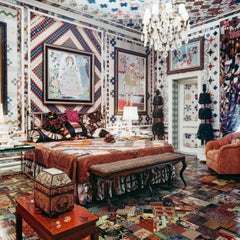 Around That Time - Gloria Vanderbilt Apartment, New York, 1970, Extra Large