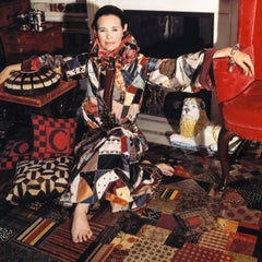 Around That Time - Gloria Vanderbilt, New York, 1970, Large Archival Print