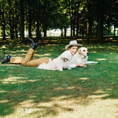 Around That Time - Lee Radziwill, 1971, Large Archival Pigment Print